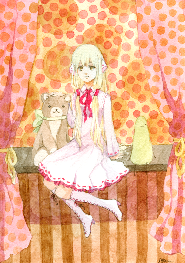 Watercolor Chii by tshuki