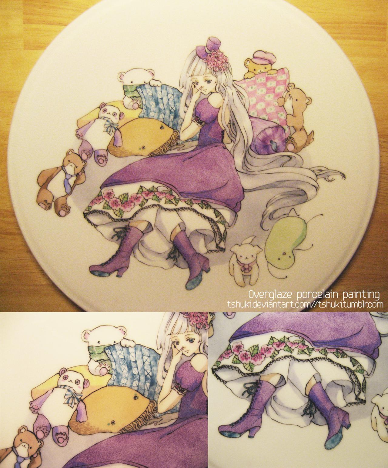 Five bears by tshuki