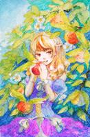 [BP] Wings Girl Apple