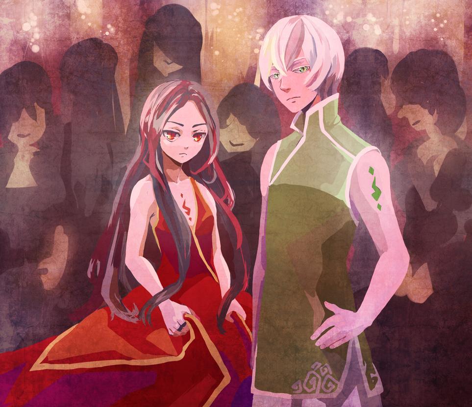 Tsundere pair by tshuki