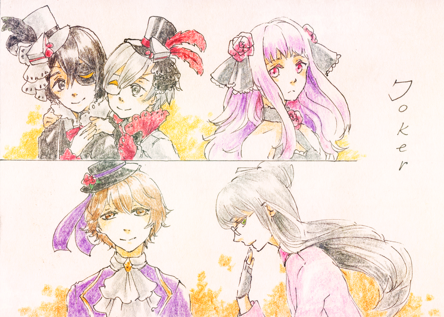 CH: Jokers ha ha by tshuki