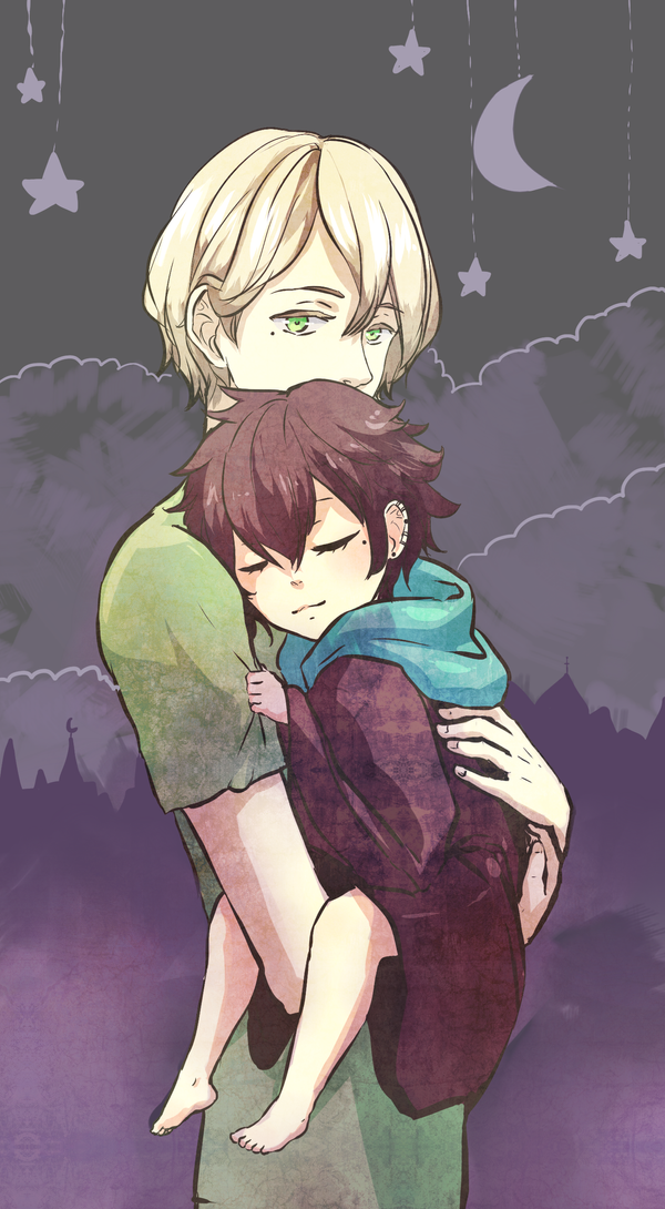 HMLS: Time to sleep little wizard by tshuki