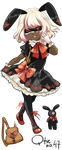 [Adoptable auction] Qtie no.47 [CLOSED] by tshuki