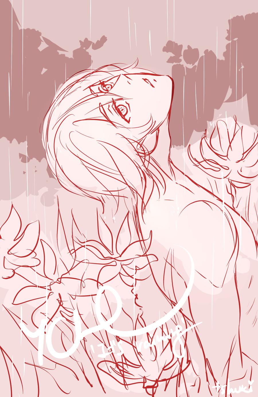 [YCH Auction] It's raining [closed] by tshuki on DeviantArt