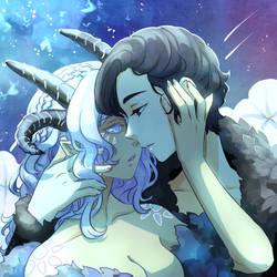 [YCH Commission] Moonflower [+speedpaint] by tshuki