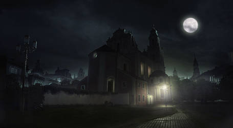 Day to night matte painting by everlite