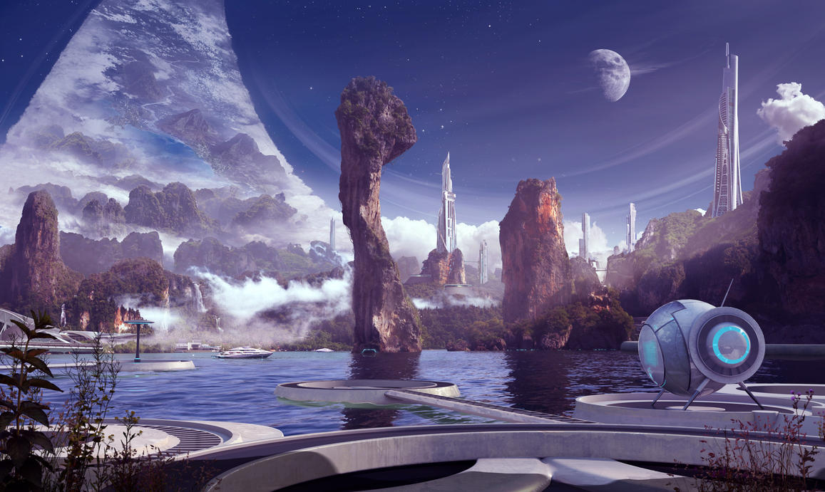 ringworld wallpaper