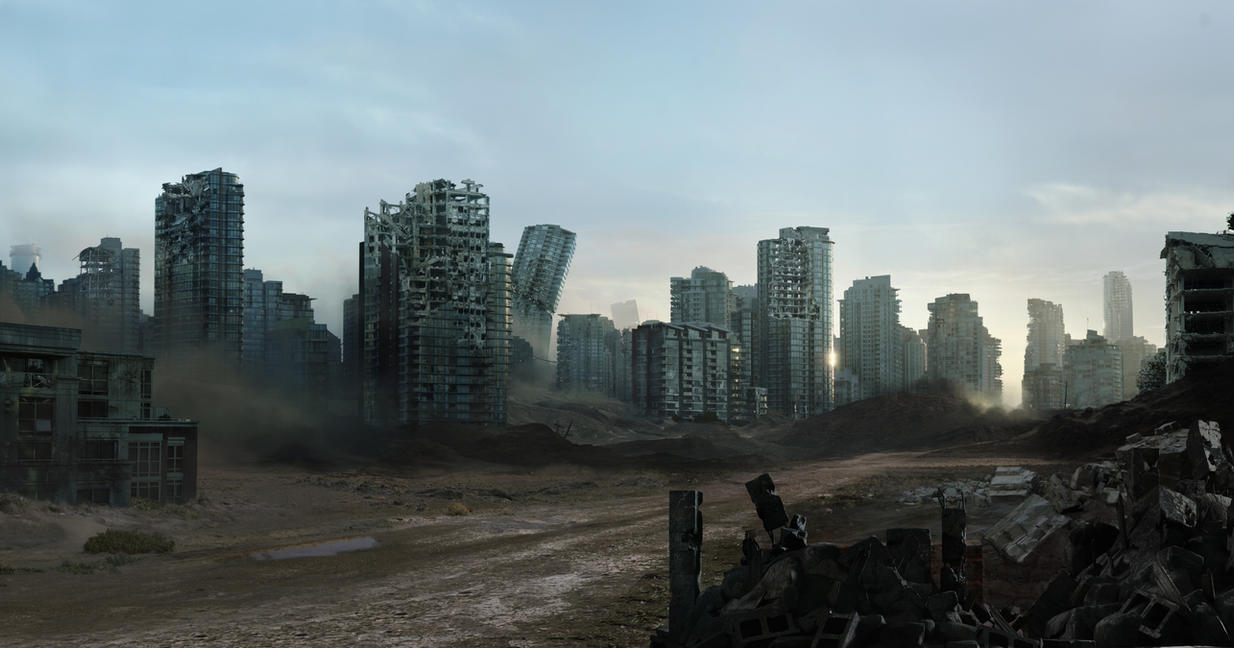 City Ruined 007 by everlite