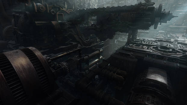 Derelict Ship Interior