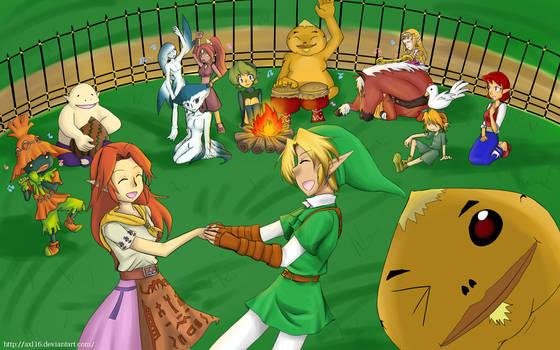 Zelda festival by Axl16