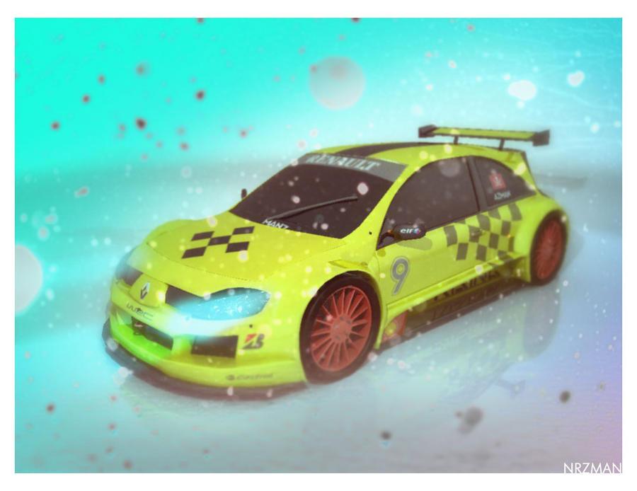 Renault Megane WRC by Nrzman