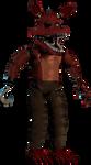Unwithered nightmare Foxy full body