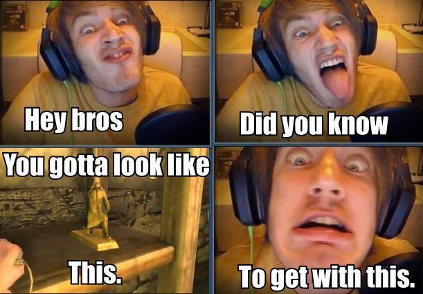 PewDiePie Meme xD by love4puppi