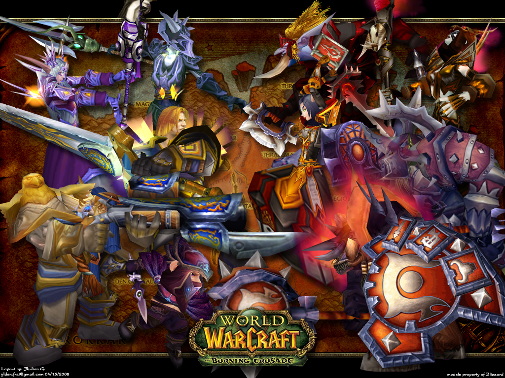 WoW: Burning Crusade wallpaper by Ylden on DeviantArt