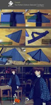 5th Atelier Tutorial: No-Pattern Cardigan
