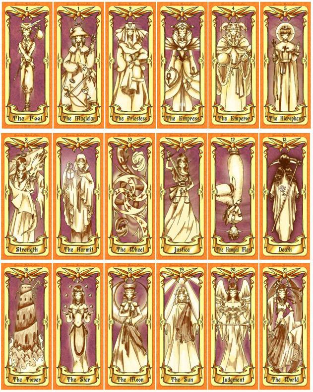 The Ylden Frei Tarot by Ylden