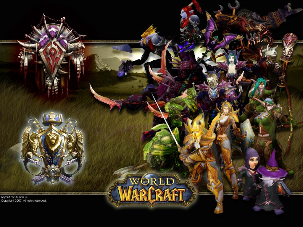 World of Warcraft Desktop BG by Ylden