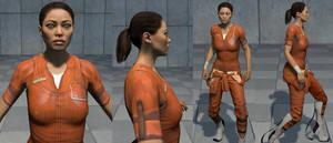 Portal 2 Chell Reskin2