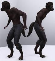 Werewolf (Sims 3) by CamKitty2