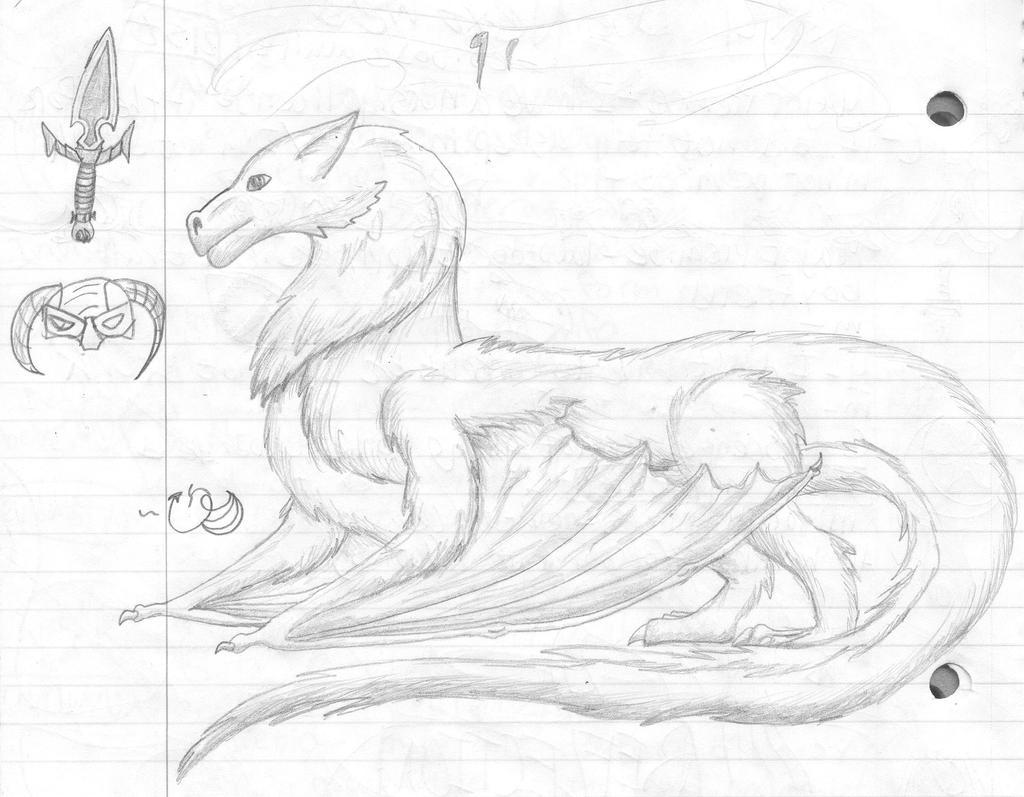 Mammalian Dragon (and random doodles) by CamKitty2 on DeviantArt