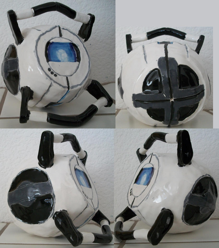 Ceramic Wheatley by CamKitty2