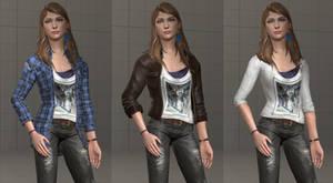 Rachel Alternate Outfits (SFM)