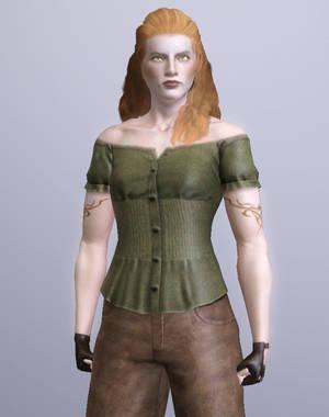 Jada Orson, Vampire Brawler (Sims 3) by CamKitty2