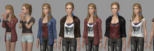 Rachel All Outfits (+Download Link)
