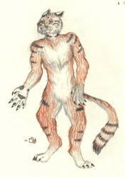 Werecat by CamKitty2