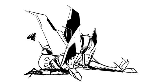rough sketch by norunn8931