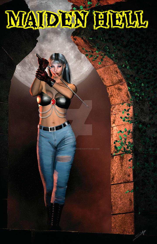 Maiden Hell Cover Design by SteveHarmon