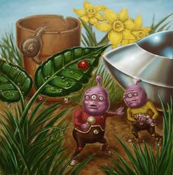 Alien Explorers. by Hungrysparrow