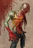 Zombie 1 hour speedie by Hungrysparrow