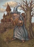Wizard. by Hungrysparrow