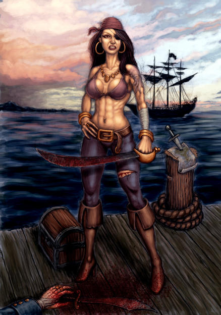 Pirate By Hungrysparrow On Deviantart