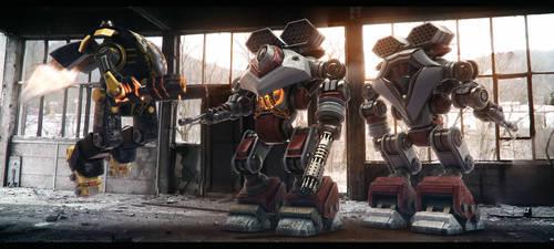 FXWars_Robots_01 by Florinmocanu