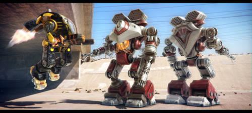 FXWars_Robots_02 by Florinmocanu