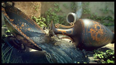 Ancient Feud_Sun by Florinmocanu