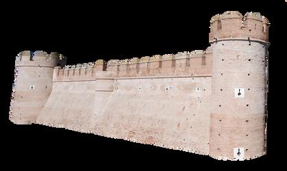 Castle Wall Precut