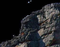 Cliff Wall Precut by Stockopedia