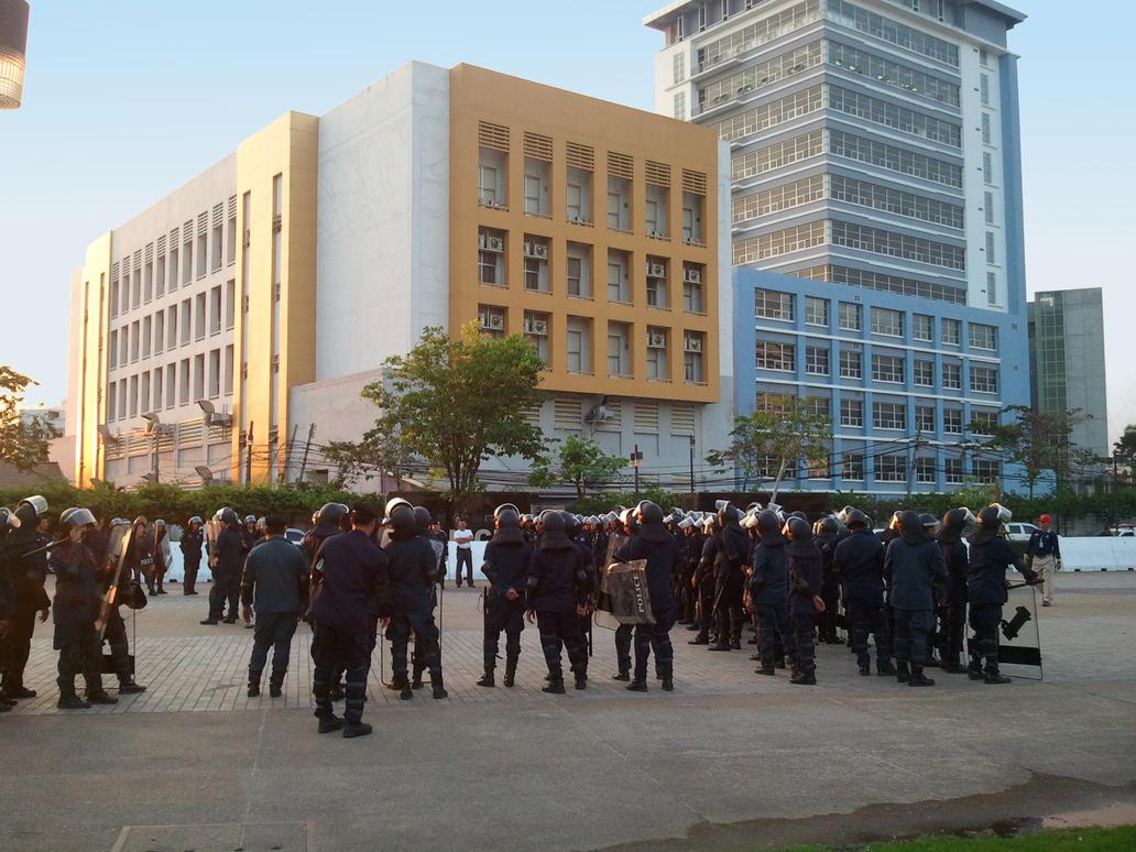 Riot Police Stock 1 by Stockopedia