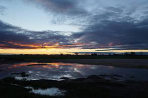 Sunset Reflection Stock 2 by Stockopedia