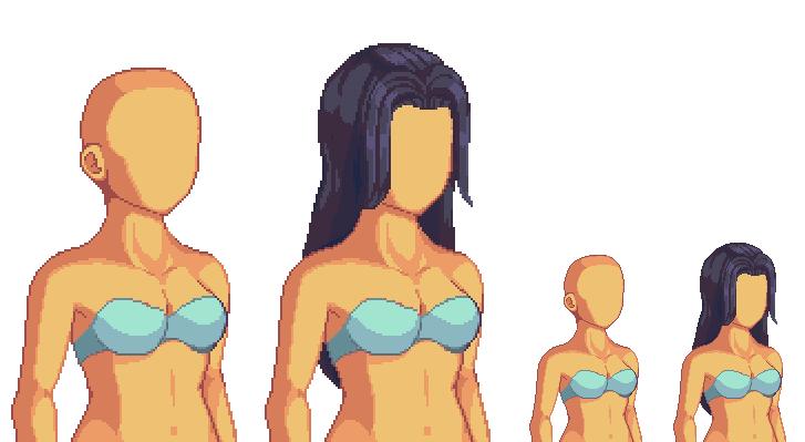 pixel character template - Monza berglauf-verband com