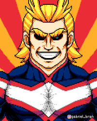 All Might [REWORKED] by AzureRoxas