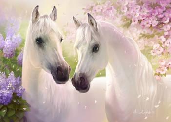 Horses by anna-lakisova
