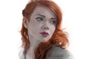 redhead by anna-lakisova