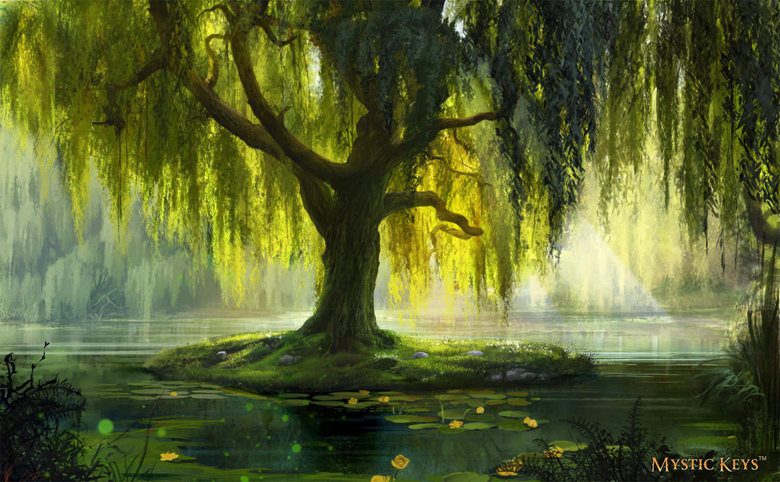 The Willow Bath by anna-lakisova