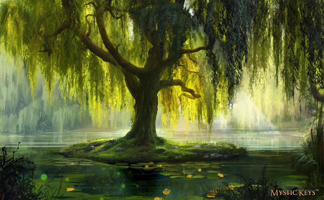 The Willow Bath By Anna Lakisova On Deviantart
