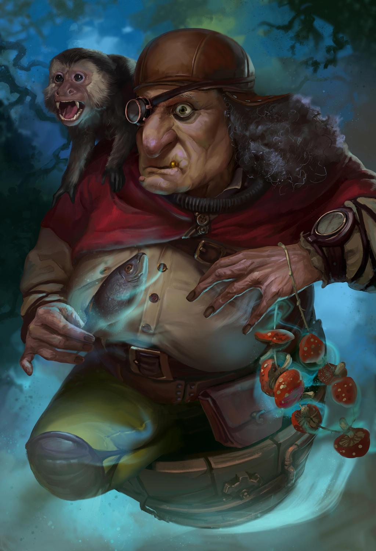 Witch by anna-lakisova