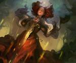 Magic Sword by anna-lakisova